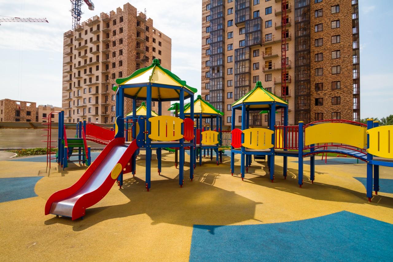 Игровые детские площадки купить недорого в